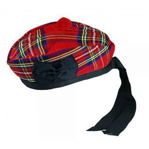 Royal Stewart Glengarry kilt Hat