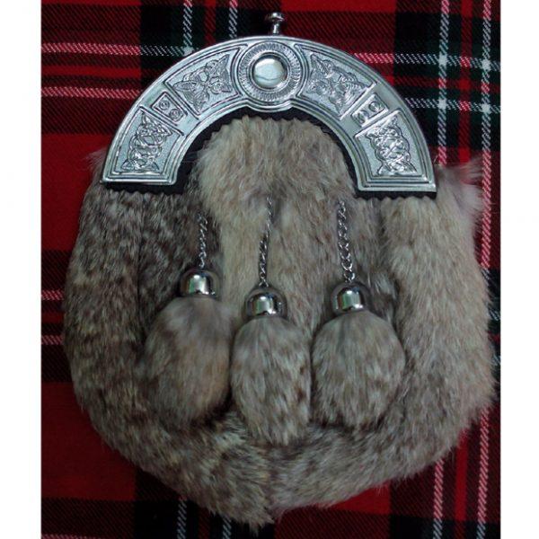 Scottish Celtic Cantle Full Dress Kilt Sporran