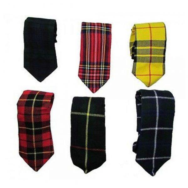 Thick Necktie tie Wallace Stewart Watch