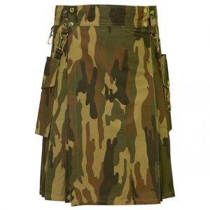 Camouflage kilt