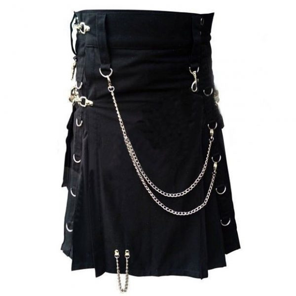 Gothic kilt With Chain
