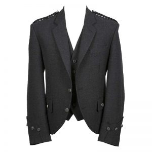 Argyle Tweed Jacket With Vest