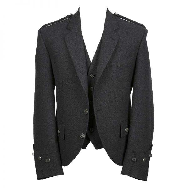 Argyle Tweed Jacket With Vest