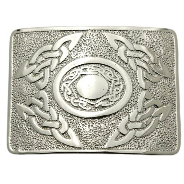 Celtic Oval Fashion Kilt Belt Buckle