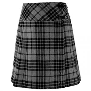Ladies Knee Length Tartan Kilt Skirt