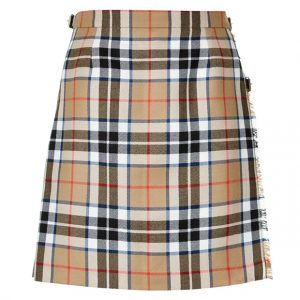 Ladies Tartan Mini Kilt Skirt