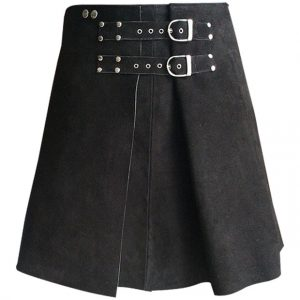Roman Gladiator Warrior Leather Kilt
