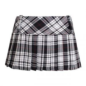Women Tartan Mini Skirts