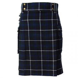 Modern Scottish Utility Tartan Kilt