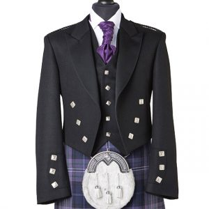 Prince Charlie Jacket With Five Button Waistcoat