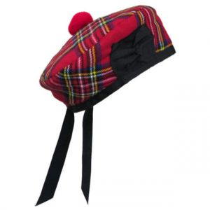 Scottish Highland Tartan Hat