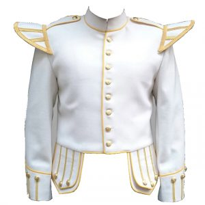 White Doublet Jacket