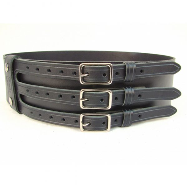 Kilt Belt With Three Buckle