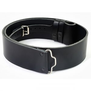 Plain Leather Kilt Belt