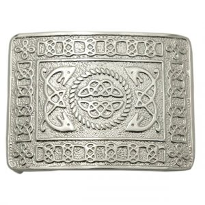Serpent Kilt Belt Buckle